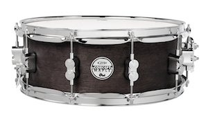 Pacific by DW Black Wax Maple Snare