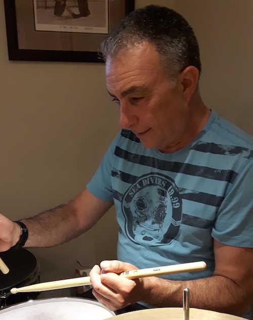 Steve Feldman Drumming